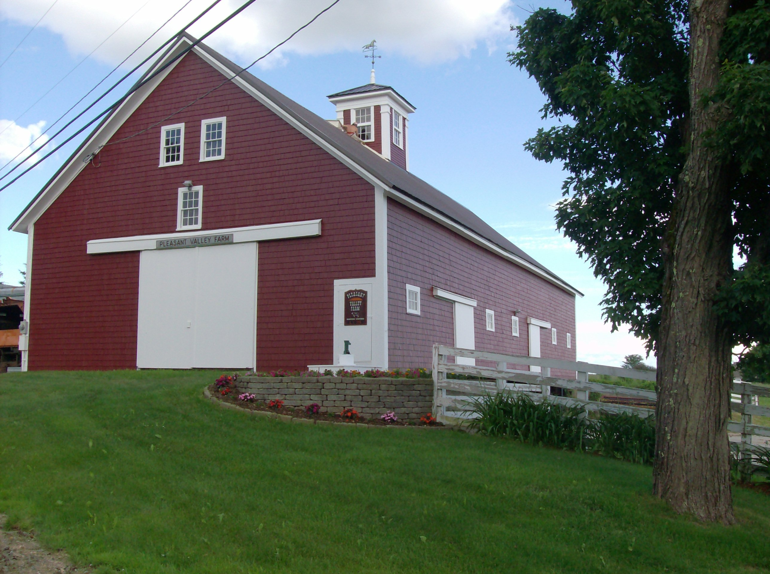 Painting Company in NH--Large Finished Barn